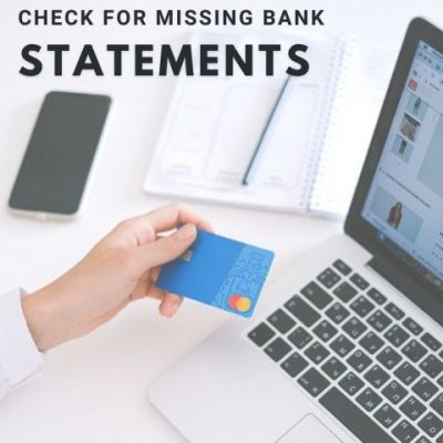 Check for Missing Bank