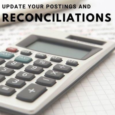 reconiliations