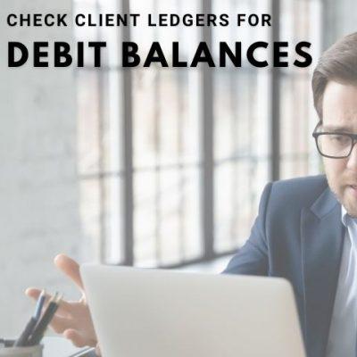 debit balances