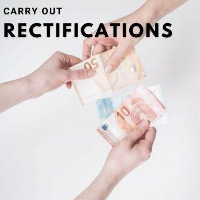 rectifications