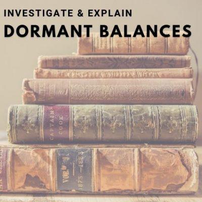 dormant balances